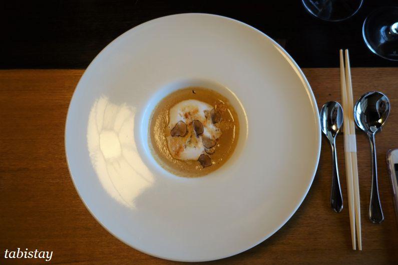 イタリア料理 祇園マメトラ トリュフのスープ