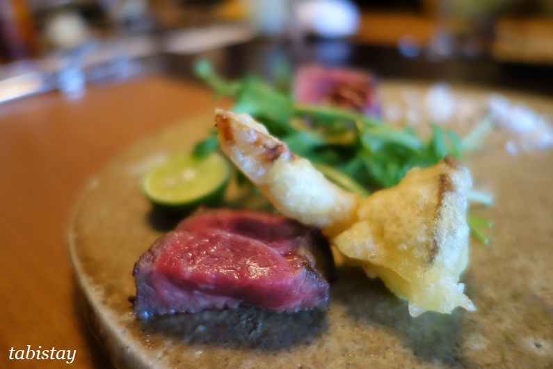 イタリア料理 祇園 マメトラ 近江牛の炭火焼き