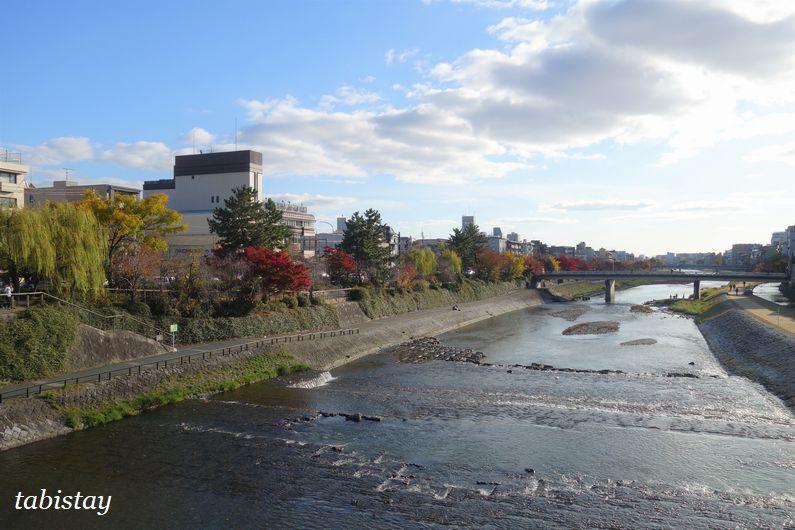 京都 四条大橋からの鴨川